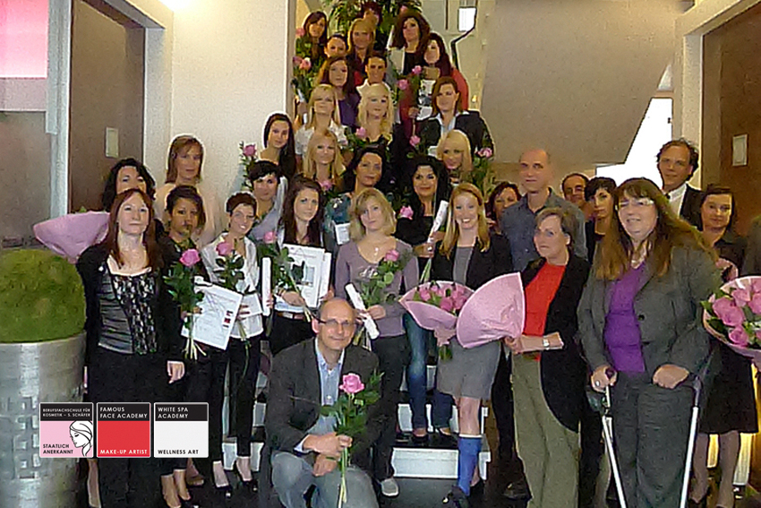 Kosmetikschule Schäfer 007 Kosmetikerin staatlich geprüft 2010-11