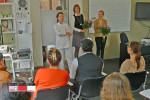 Ausbildungsberuf Kosmetikerin 004 - Abschlussklasse der Fachkosmetikerinnen Frühjahr 2012 - Kosmetikschule Schäfer
