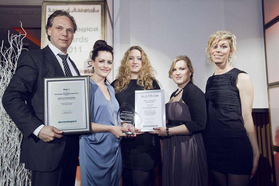 SKIN8 - Zentrum für Hautgesundheit gewinnt den Dermalogica Award 2011 und ist das bestes Kosmetikinstitut Deutschlands