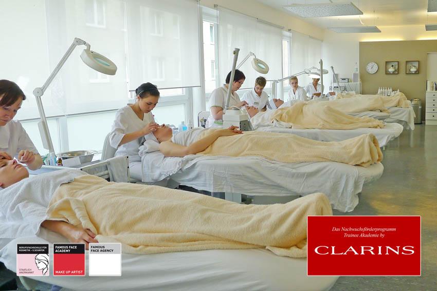 Trainee Akademie by Clarins - Kosmetikschule Schäfer
