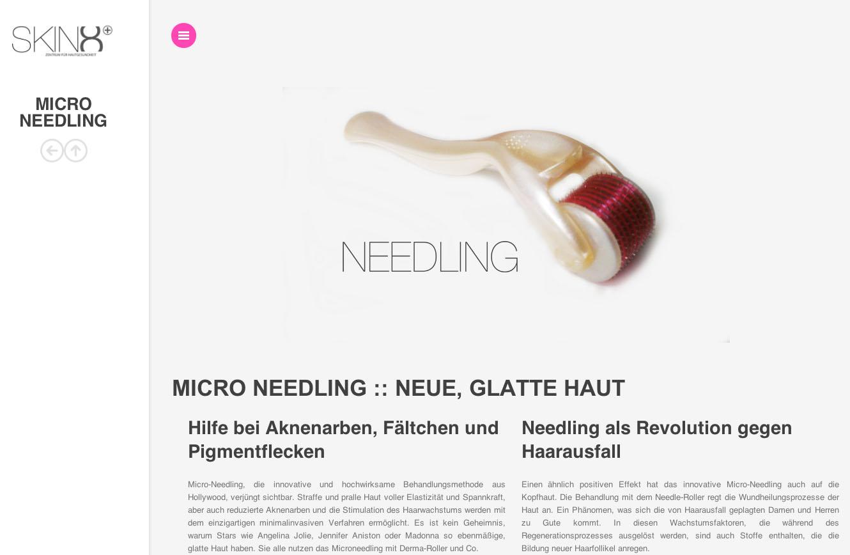 Needling SKIN8 - Kosmetikinstitut Gießen