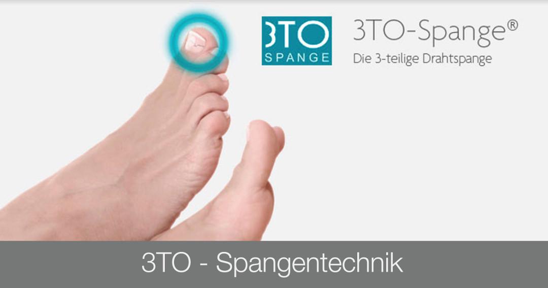 Ausbildung Fußpflege - 3TO Spangentechnik - Kosmetikschule Schäfer