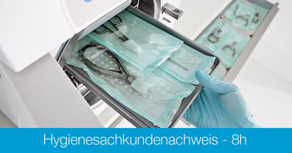 Ausbildung Hygienesachkundenachweis - Grundkurs 8h - Kosmetikschule Schäfer