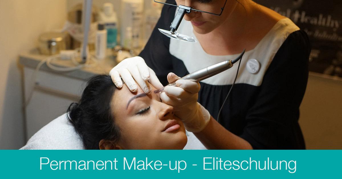 Ausbildung Permanent Make-up Artist Eliteschulung - Kosmetikschule Schäfer