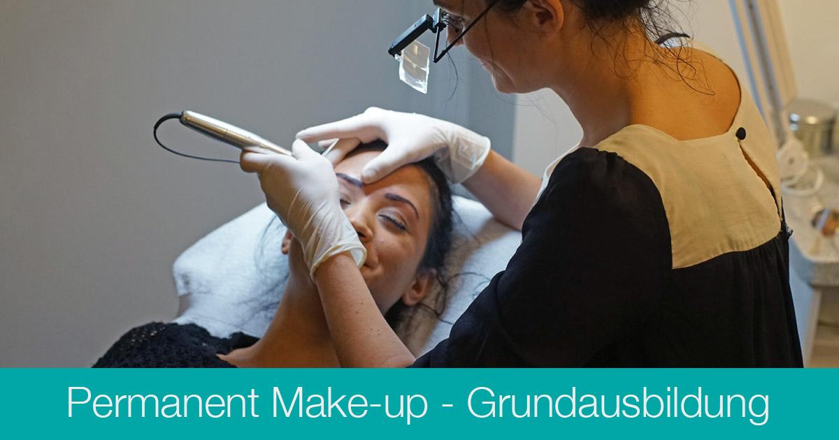 Ausbildung Permanent Make-up Grunbdkurs - Kosmetikschule Schäfer