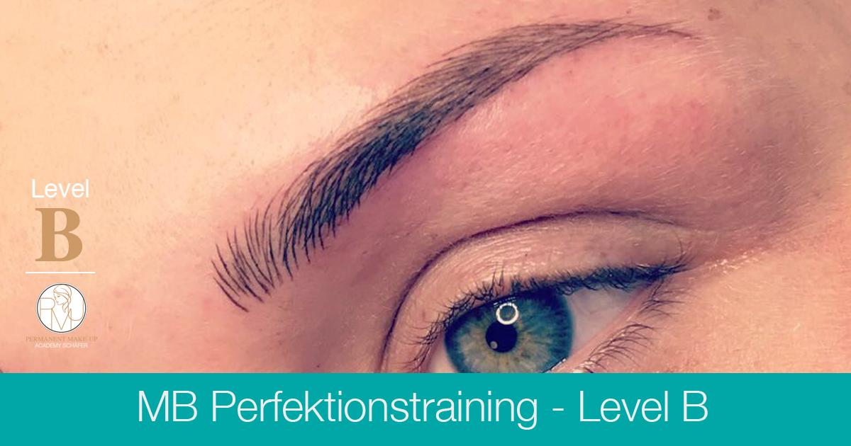 Microblading Perfektionstraining Level B - Ausbildung Permanent Make-up Microblading - Kosmetikschule Schäfer
