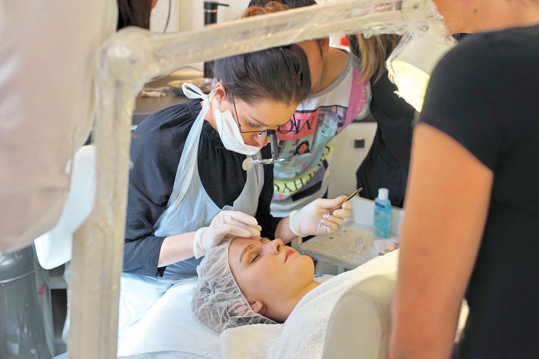 Microlading Ausbildung 09 - Kosmetikschule Schäfer