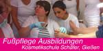 Fußpflege Ausbildungen 01 - Kosmetikschule Schäfer