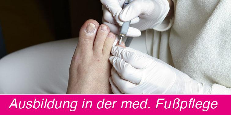 04 Ausbildung in der med. Fußpflege - Kosmetikschule Schäfer - fb