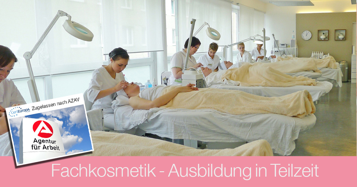 Ausbildung Kosmetik - AZAV - Bildungsgutschein - Fachkosmetik - Kosmetikschule Schaefer