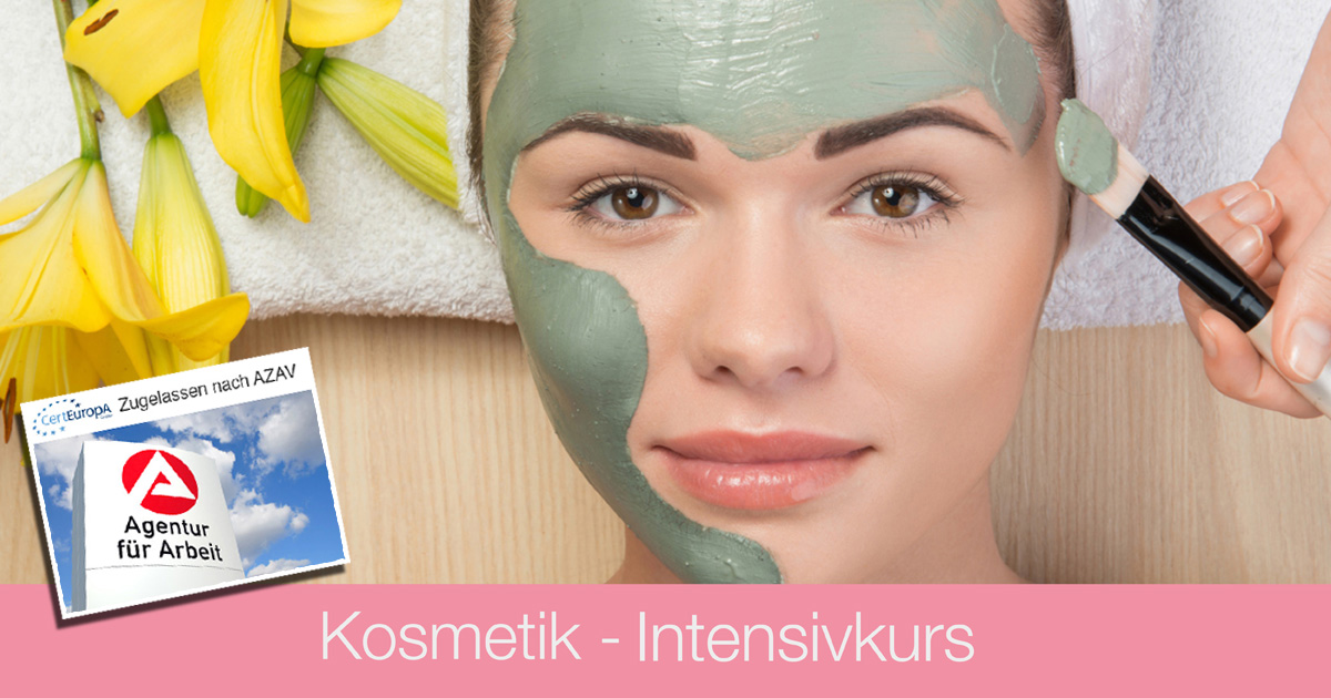 Ausbildung Kosmetik - AZAV - Bildungsgutschein - Kosmetik Intensivkurs - Kosmetikschule Schaefer