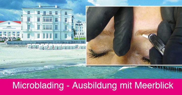 Microblading Ausbildung 02 - Kosmetikschule Schäfer - Grandhotel Heiligendamm 092015 fb