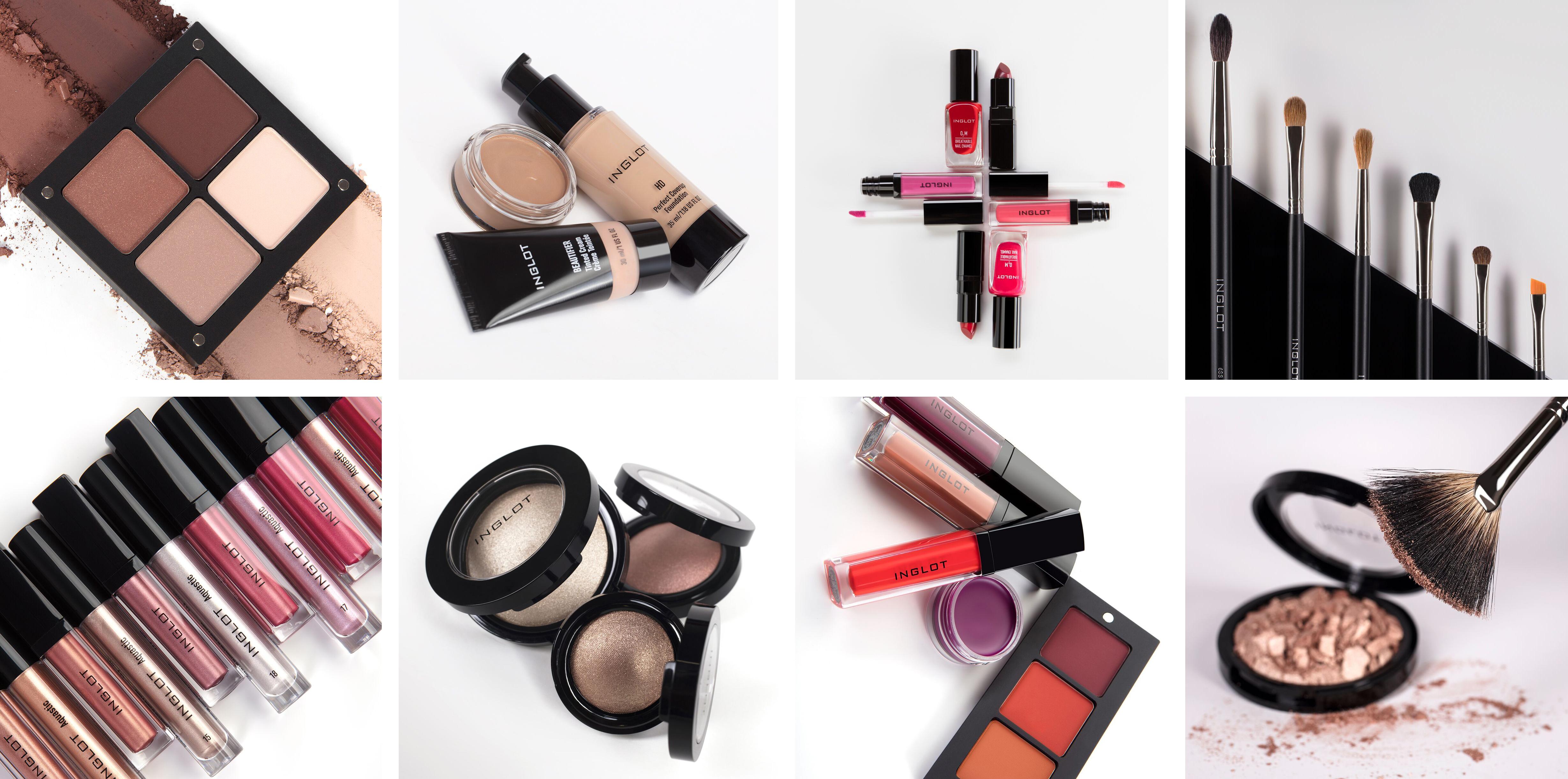 Make-up + Pinsel Inglot - Kosmetikschule Schäfer