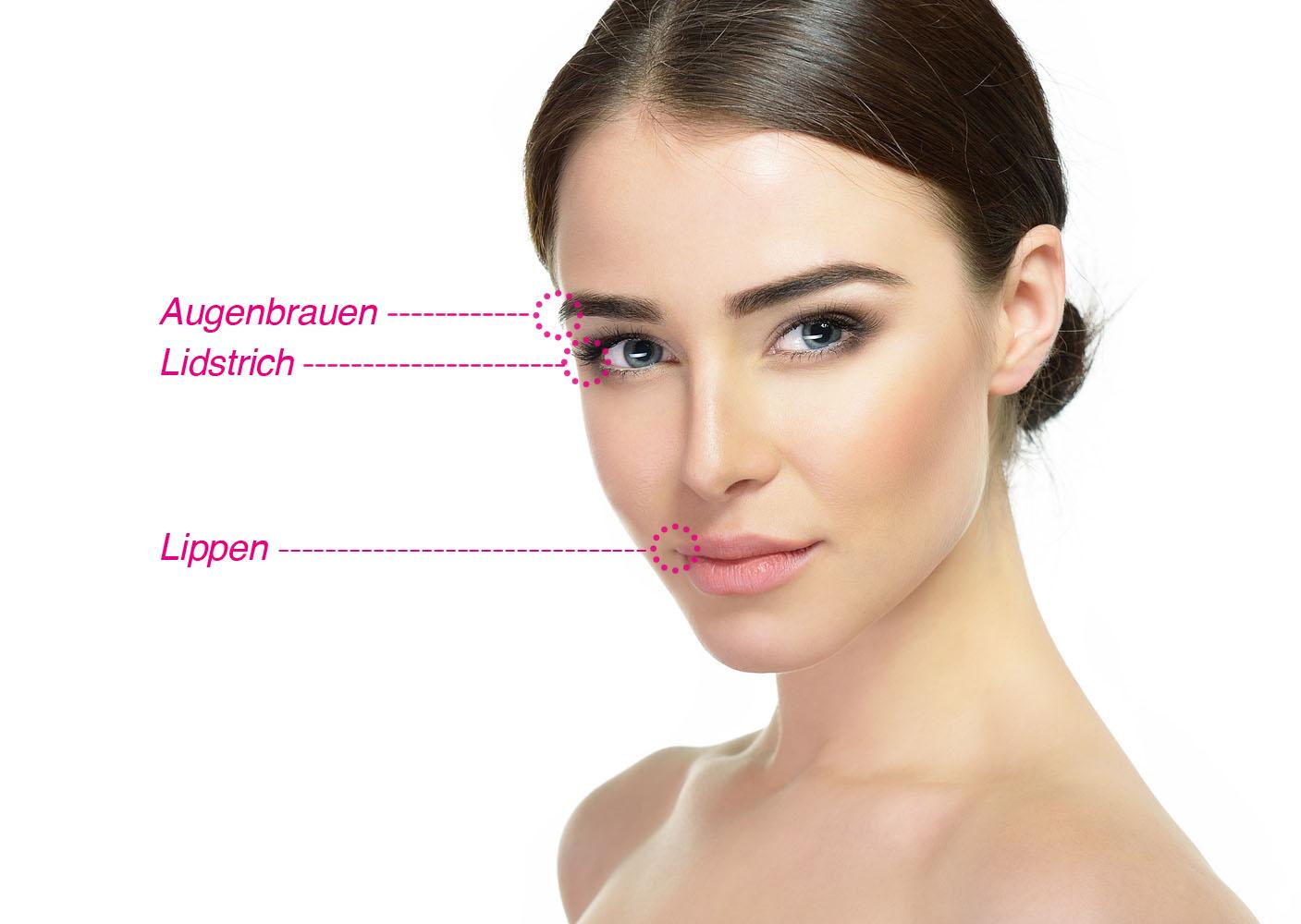 Ausbildung Permanent Make-up + Microblading - Rostock, Hamburg, Bremen, Lübeck - Kosmetikschule Schäfer