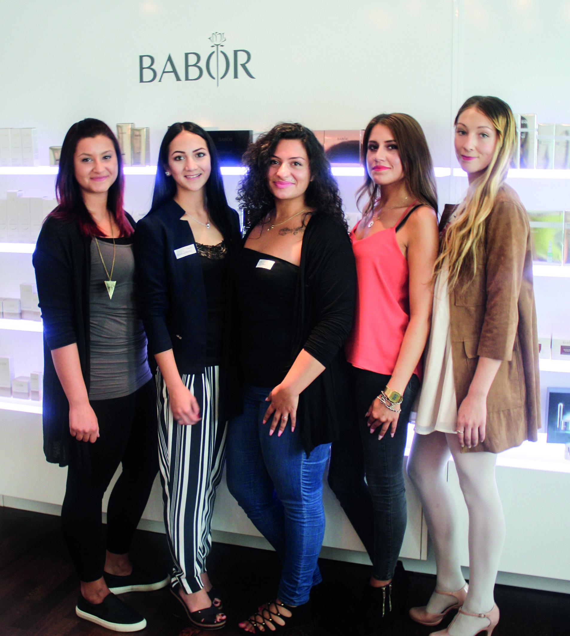 BABOR_Finale Stipendium Kosmetikschule Schäfer_Finalistinnen
