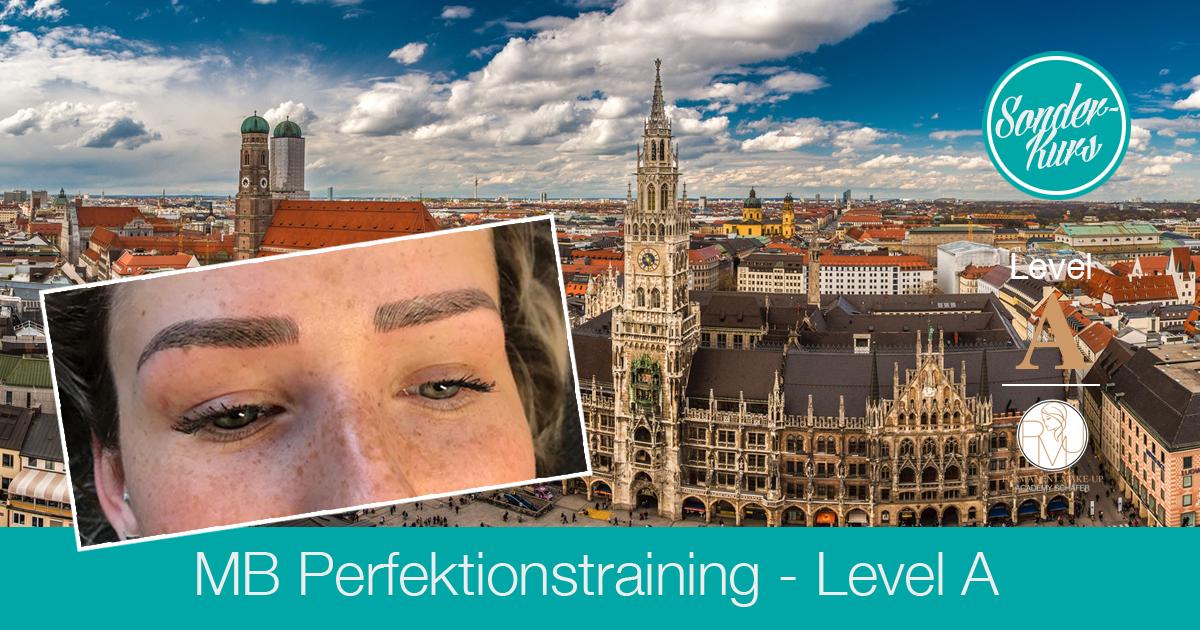 Microblading Perfektionstraining Level A 2018 München - Ausbildung Permanent Make-up Microblading - Kosmetikschule Schäfer