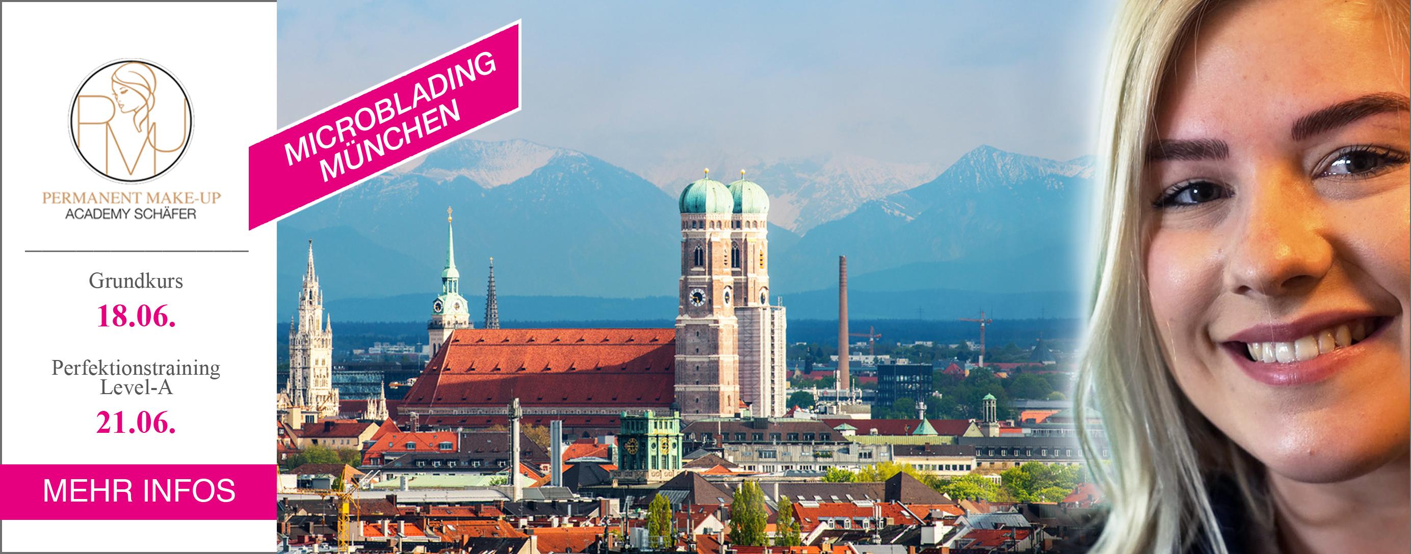 Microblading Ausbildung München - Kosmetikschule Schäfer - PMU Schäfer