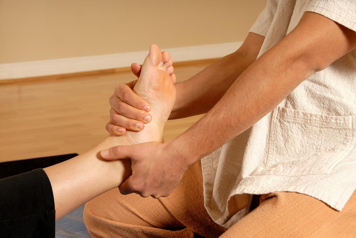 energetische Fußmassage - Kosmetikschule Schäfer
