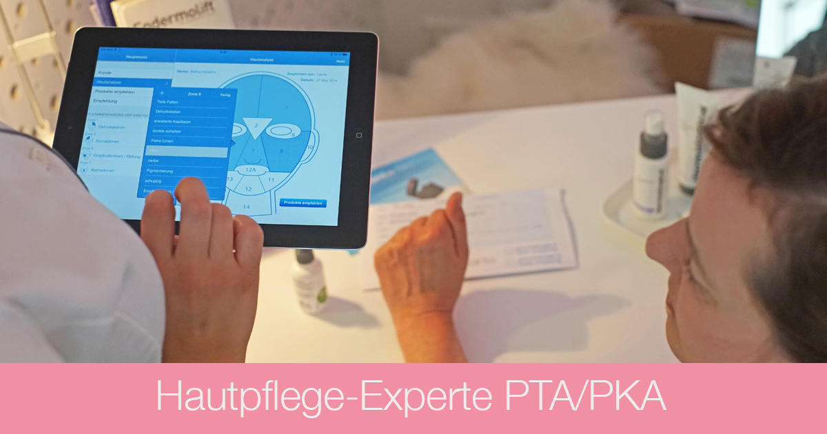 Ausbildung Kosmetik - PTA PKA Hautpflege-Experte - Kosmetikschule Schäfer