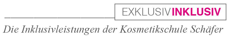 Exklusivleistungen der Kosmetikschule Schäfer