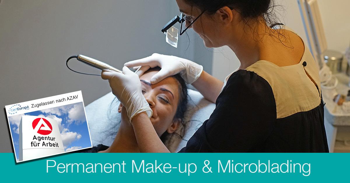 Permanent Make-up & Microblading (AZAV) - Kosmetikschule Schäfer