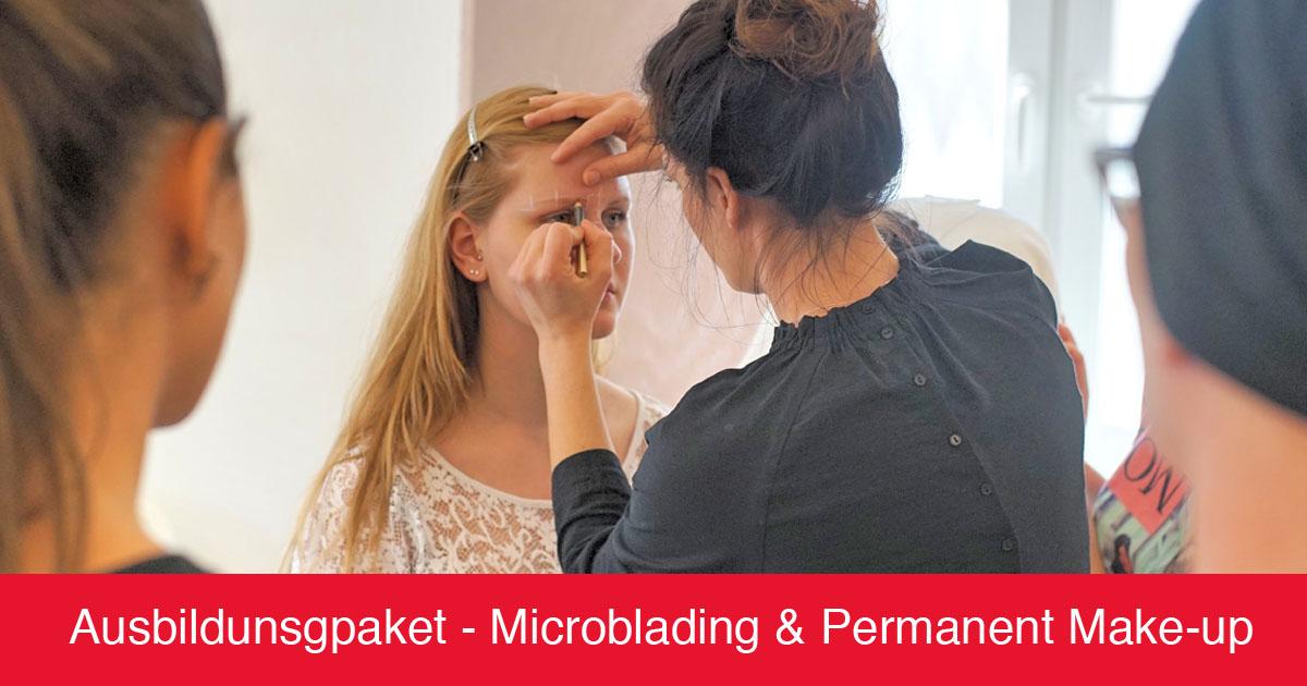 Ausbildungspaket Permanent Make-up + Microblading - Kosmetikschule Schäfer