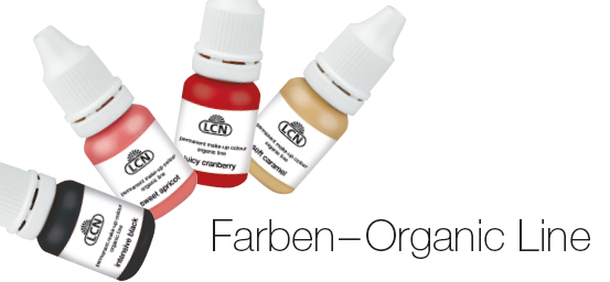 PMU Farben - Organic Line - LCN - Kosmetikschule Schäfer
