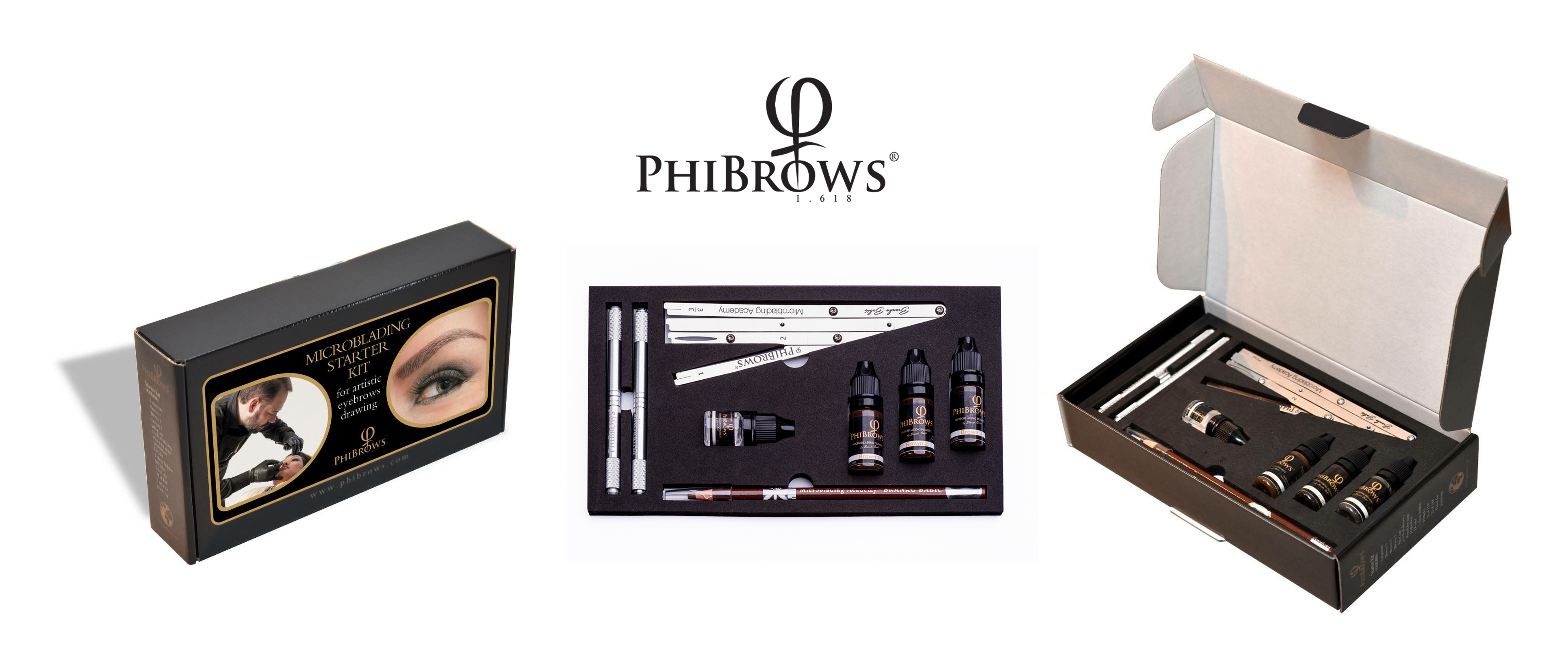PhiBrows Starter Kit - Branko Babic