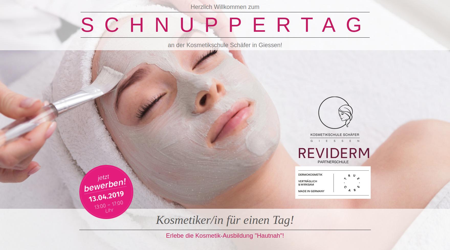 schnuppertag - Kosmetikschule